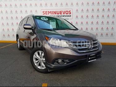 Honda CR-V EXL NAVI usado (2014) color Tungsteno precio $250,000