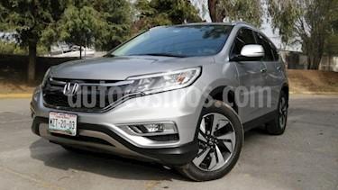 Honda CR-V 5P EXL CVT A/AC. AUT. QC PIEL DVD GPS RA-18 usado (2016) color Plata precio $369,000