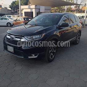 Honda CR-V Touring usado (2017) color Negro Cristal precio $395,000