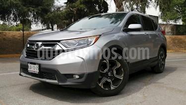 Honda CR-V 5P TURBO PLUS 1.5T CVT PIEL RA-18 usado (2019) color Plata precio $460,000