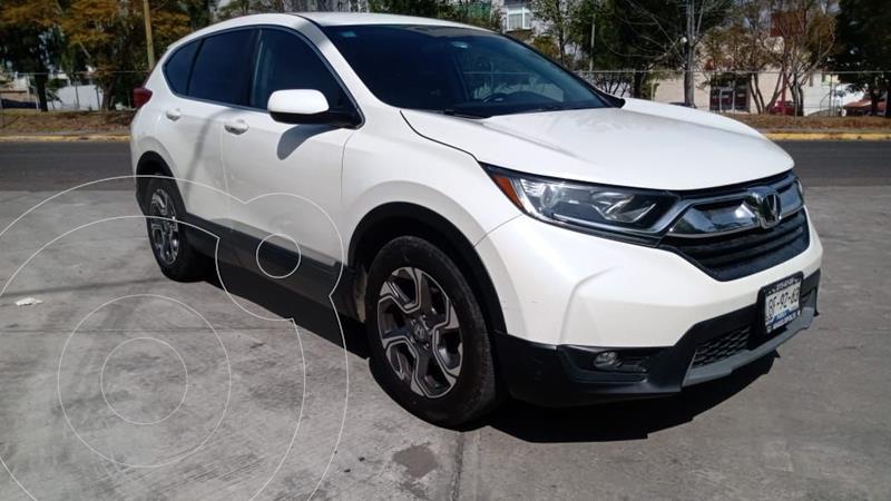 Honda CR-V Turbo Plus usado (2018) color Blanco precio $365,000