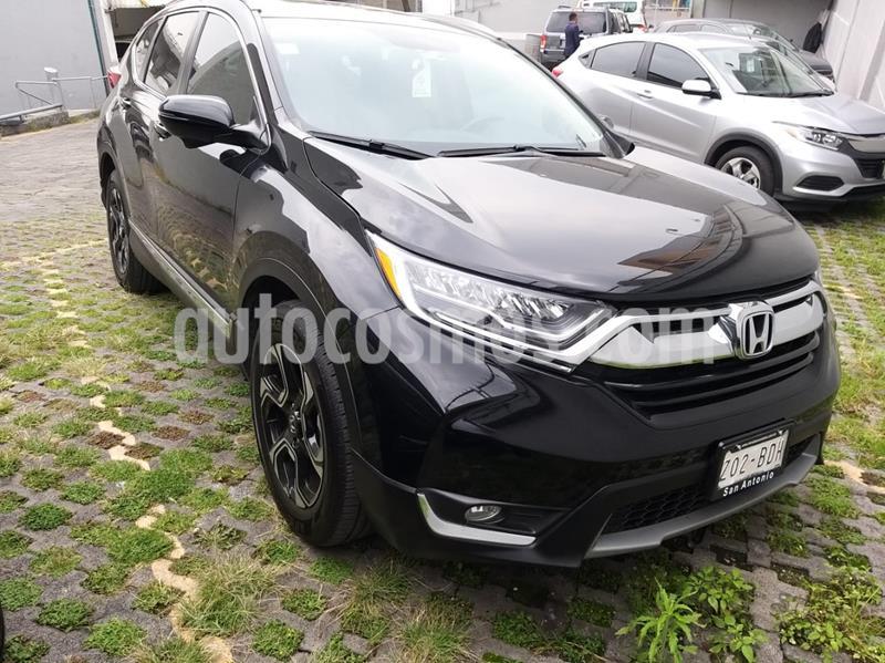 Honda CR-V Touring usado (2019) color Negro Cristal precio $478,000