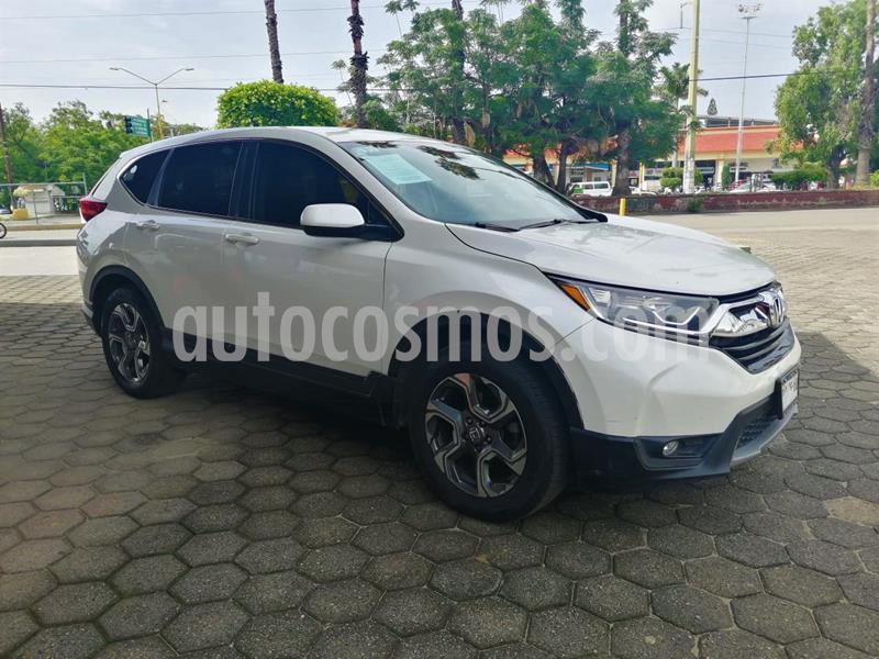 Honda CR-V Turbo Plus usado (2018) color Blanco Marfil precio $340,000