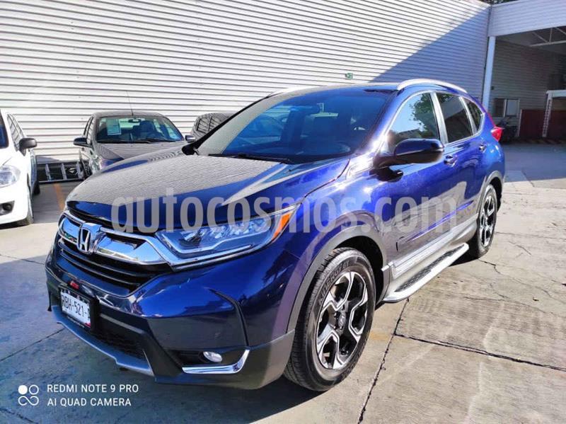 Honda CR-V Touring usado (2017) color Azul precio $399,000