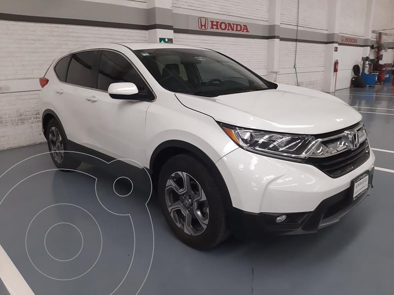 Foto Honda CR-V Turbo Plus usado (2017) color Blanco precio $413,000