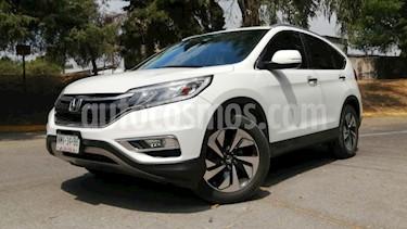 Honda CR-V 5P EXL CVT A/AC. AUT. QC PIEL DVD GPS RA-18 usado (2015) color Blanco precio $299,000