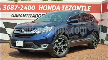Honda CR-V Touring usado (2017) color Azul Oscuro precio $399,000