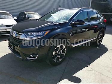 Honda CR-V Touring usado (2018) color Negro precio $439,000