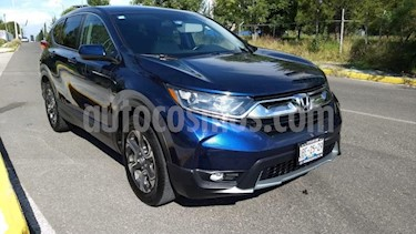 Honda CR-V 5p Turbo Plus L4/1.5/T Aut usado (2018) color Azul Marino precio $410,000