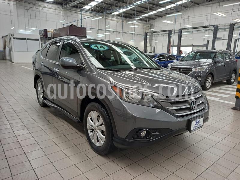 Honda CR-V EXL 2.4L (156Hp) usado (2014) color Gris Oscuro precio $250,000