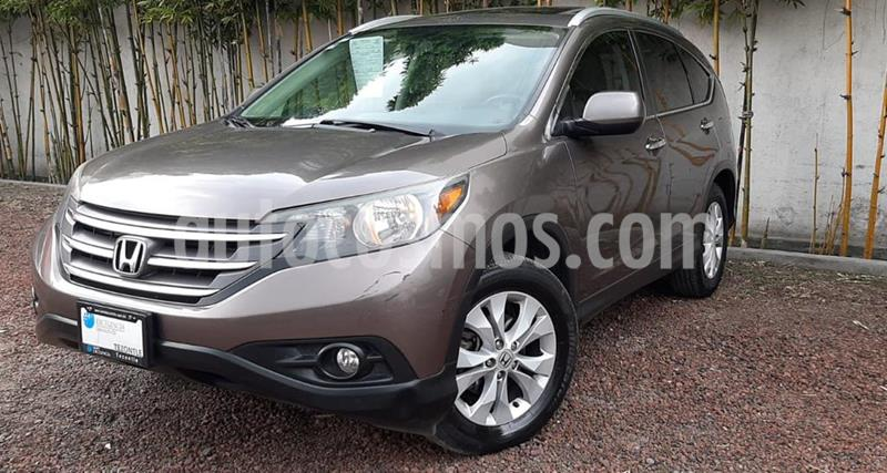 Honda CR-V EXL NAVI usado (2014) color Tungsteno precio $245,000
