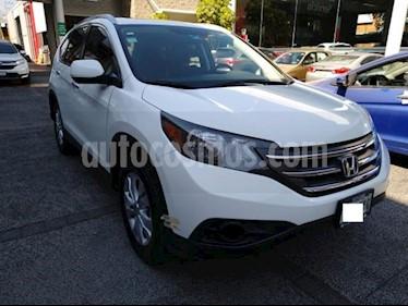 Honda CR-V 5P EXL TA A/AC. AUT. QC PIEL DVD GPS RA usado (2014) color Blanco precio $255,000
