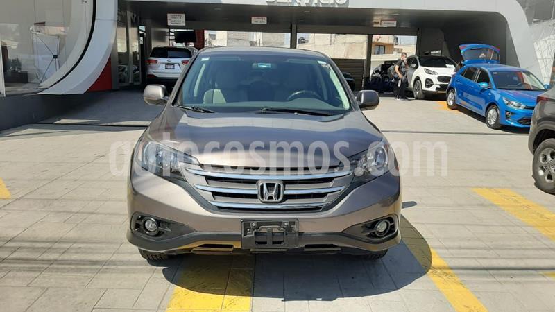 Honda CR-V EX Premium usado (2014) color Cafe precio $229,464