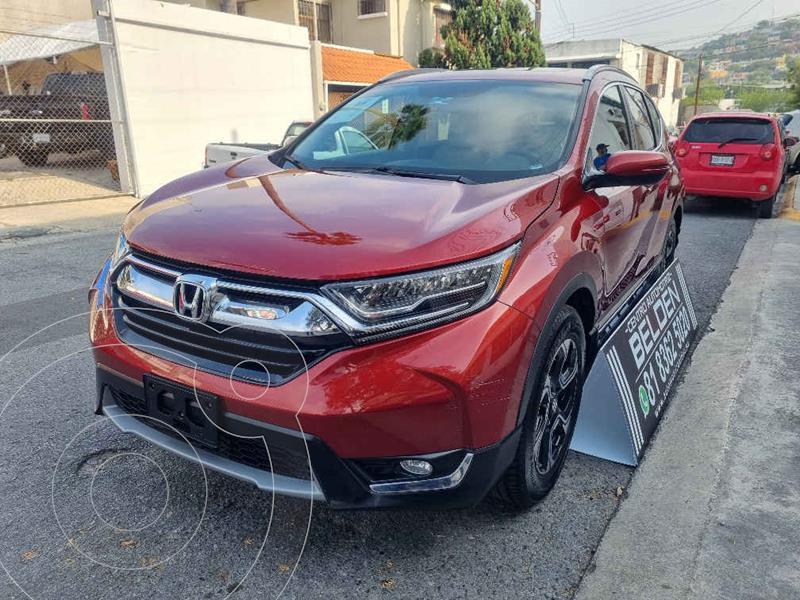 Foto Honda CR-V Touring usado (2019) color Vino Tinto precio $498,000