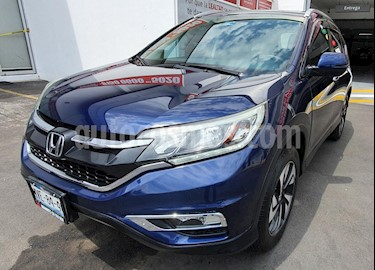 Honda CR-V EXL Navi usado (2015) color Azul Oscuro precio $275,000