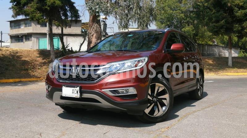 Honda CR-V EXL 2.4L (156Hp) usado (2015) color Rojo Cobrizo precio $280,000