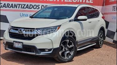 Honda CR-V Touring usado (2017) color Blanco Marfil precio $385,000