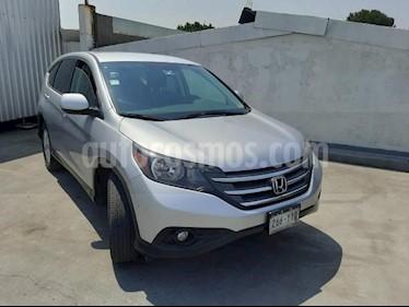 Honda CR-V 5P EXL TA A/AC. AUT. QC PIEL 6 CD F. NIEBLA RA 4X usado (2013) color Plata precio $195,000