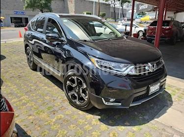 Honda CR-V Touring usado (2017) color Negro Cristal precio $385,000