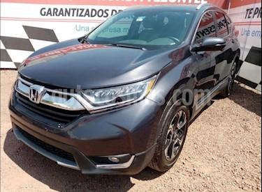 Honda CR-V Touring usado (2018) color Gris precio $399,000
