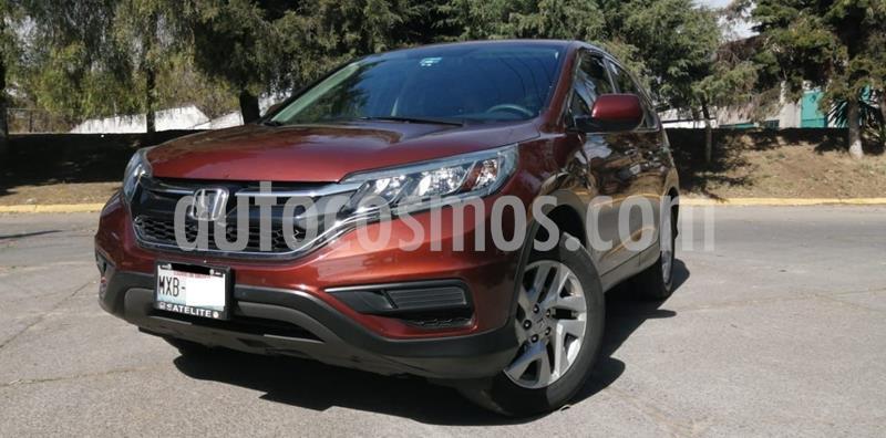 Honda CR-V LX 2.4L (156Hp) usado (2016) color Rojo precio $265,000