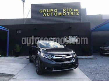 Honda CR-V Turbo Plus usado (2018) color Gris precio $389,000