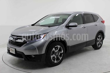 Honda CR-V Turbo Plus usado (2019) color Plata precio $449,000