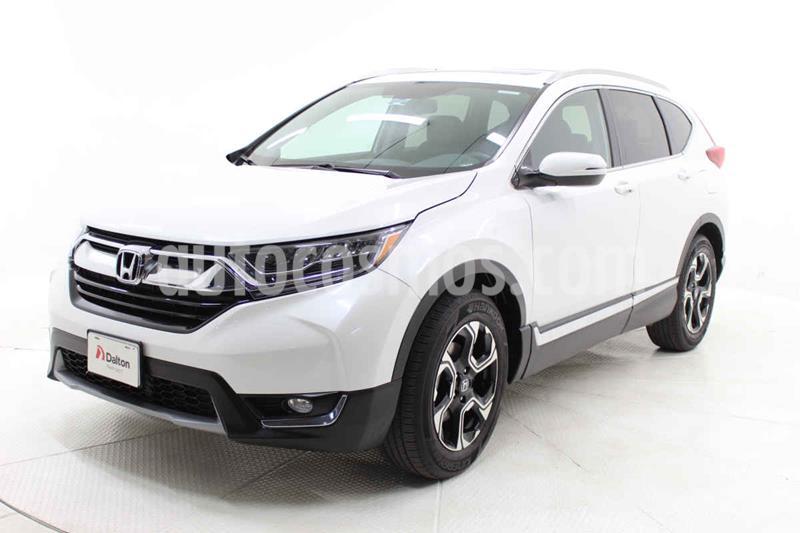 Honda CR-V Touring usado (2019) color Blanco precio $499,000