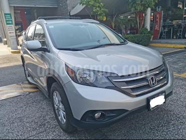 Honda CR-V 5P EX TA 6 CD F. NIEBLA RA usado (2013) color Plata precio $237,000
