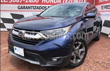 Honda CR-V Turbo Plus usado (2017) color Azul Oscuro precio $365,000