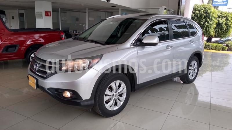 Honda CR-V EXL NAVI usado (2014) color Plata Dorado precio $229,000