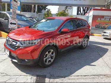 Foto Honda CR-V Turbo Plus usado (2018) color Rojo precio $409,000