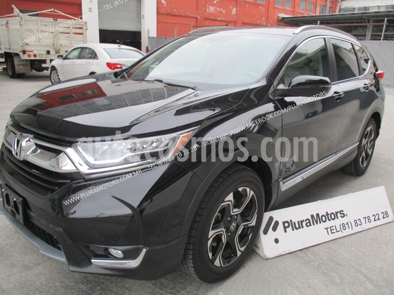 Honda CR-V Touring usado (2018) color Negro precio $419,000