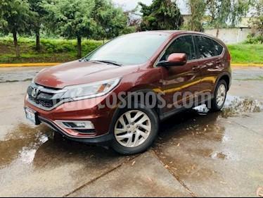 Honda CR-V 5P I STYLE CVT CD F.NIEBLA RA-17 usado (2015) color Rojo precio $260,000