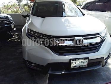 Honda CR-V Touring usado (2017) color Blanco Marfil precio $390,000