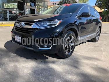 Honda CR-V Touring usado (2017) color Negro precio $398,000