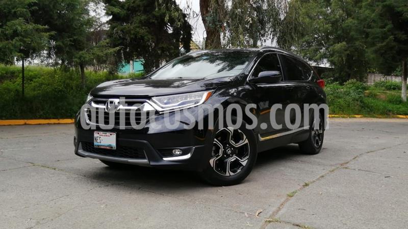 Honda CR-V Touring usado (2017) color Negro precio $399,000