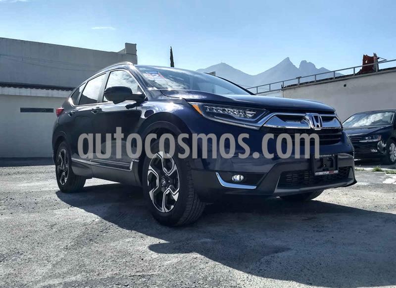 Honda CR-V Touring usado (2018) color Azul precio $399,990