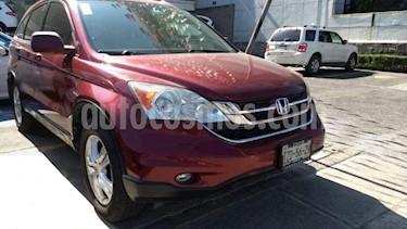 Honda CR-V 5P EXL TA A/AC. AUT. QC PIEL 6 CD RA 4X4 usado (2010) color Rojo precio $153,000