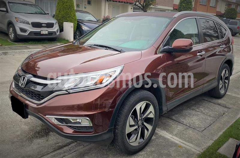 Honda CR-V EXL usado (2015) color Rojo precio $294,999