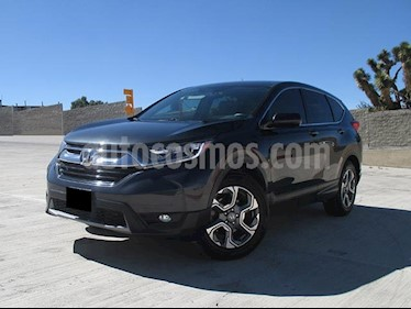 Honda CR-V Turbo Plus usado (2018) color Gris precio $418,000