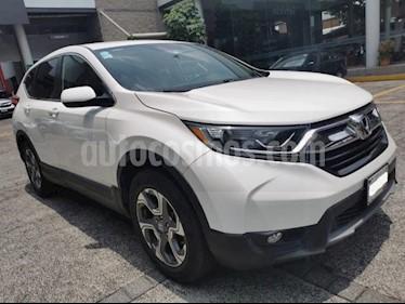 Honda CR-V 5P TURBO PLUS 1.5T CVT PIEL RA-18 usado (2017) color Blanco precio $367,000