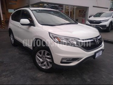 Honda CR-V 5P I STYLE CVT CD F.NIEBLA RA-17 usado (2015) color Blanco precio $278,000