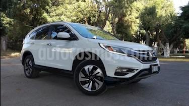 Honda CR-V 5P EXL CVT A/AC. AUT. QC PIEL DVD GPS RA-18 usado (2015) color Blanco precio $295,000