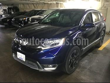 Honda CR-V Touring usado (2018) color Azul precio $418,000