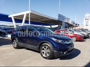 Honda CR-V Turbo Plus usado (2018) color Azul Marino precio $380,000