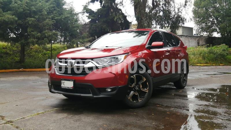 Honda CR-V Turbo Plus usado (2017) color Rojo precio $360,000