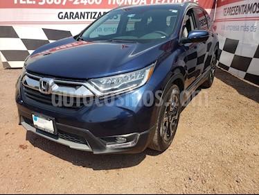 Honda CR-V Touring usado (2017) color Azul Oscuro precio $369,000