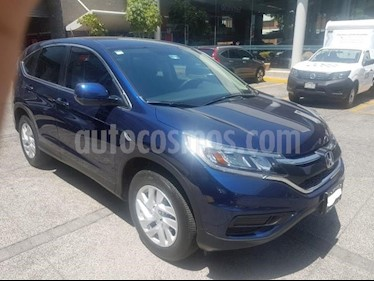 Honda CR-V 5P LX CVT CD RA-17 usado (2016) color Azul precio $315,000