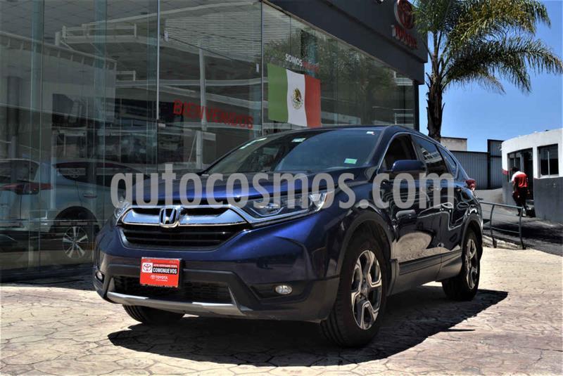 Honda CR-V Turbo Plus usado (2017) color Azul precio $375,000